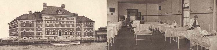 Ellis Island Hospital and Mens Ward - New York (Manhattan)